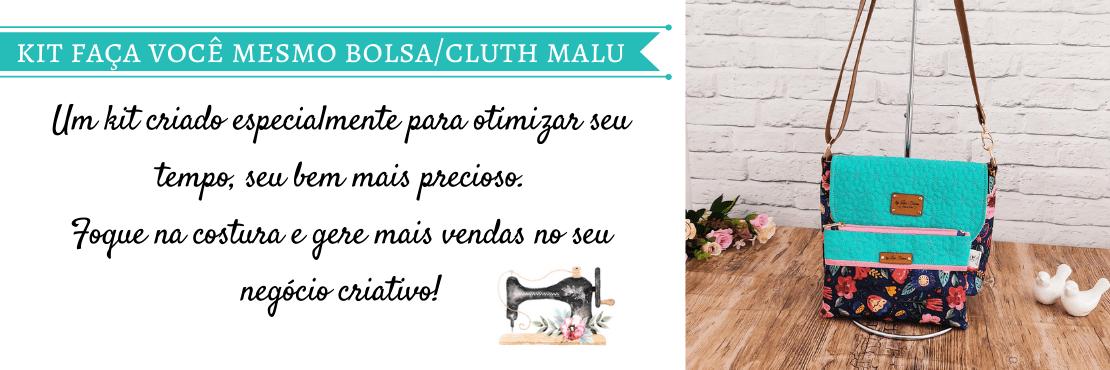 Kit Materiais Projeto Bolsa e Clutch Malu
