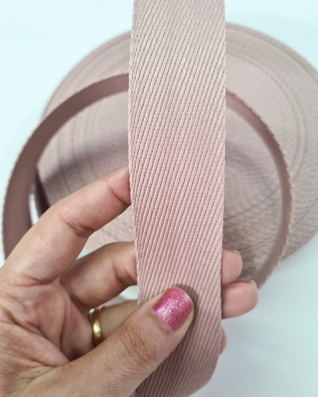 Alça Fashion Rose 3cm