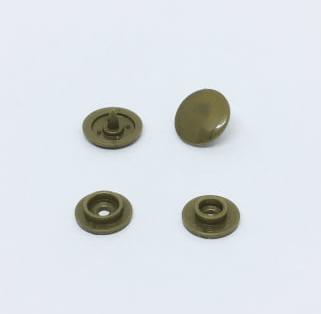 Botão de Pressão Ritas nº 12 Ouro (Pacote com 50 peças)