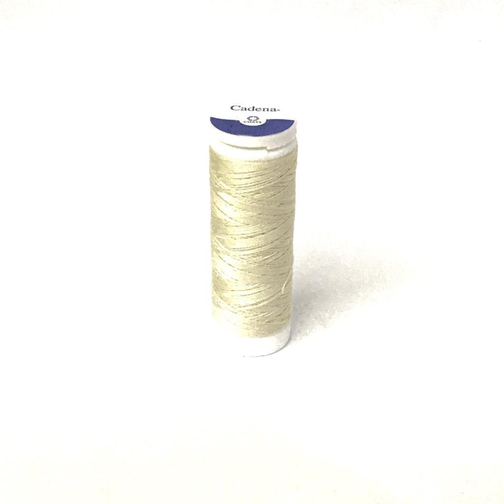 Linha Cadena para Costura 100% Algodão Cor 0C Marfim 91,4m