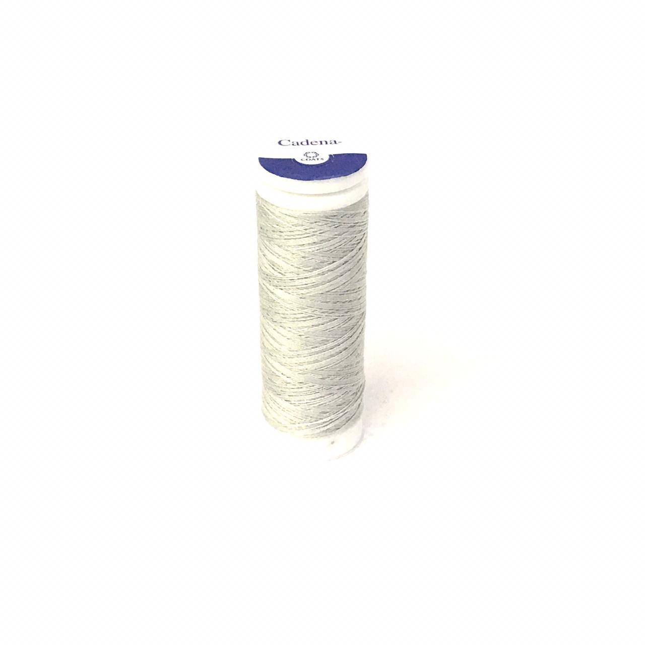 Linha Cadena para Costura 100% Algodão Cor 884 Cinza Claro 91,4m
