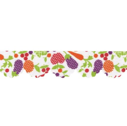 Mini Lasynha Est. Frutas e Legumes Cor 950