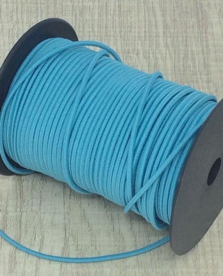 Elástico Roliço Azul Turquesa