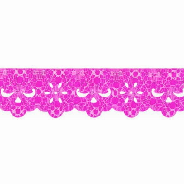 Lasy Rendada Pink