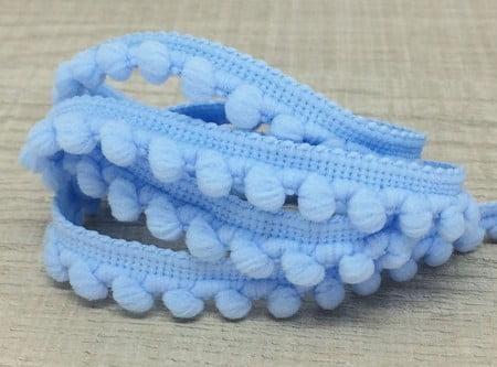Mini Pompom Azul BB