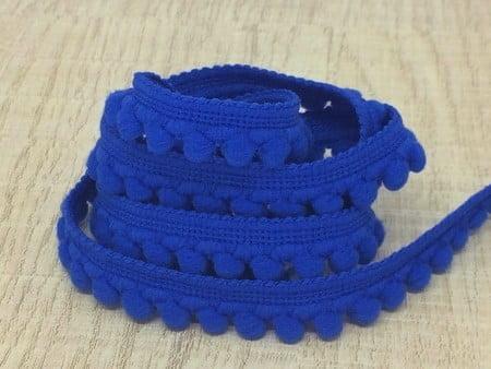 Mini Pompom Azul Royal