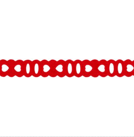 Mini Passa Fita Liso Vermelho Cor 309