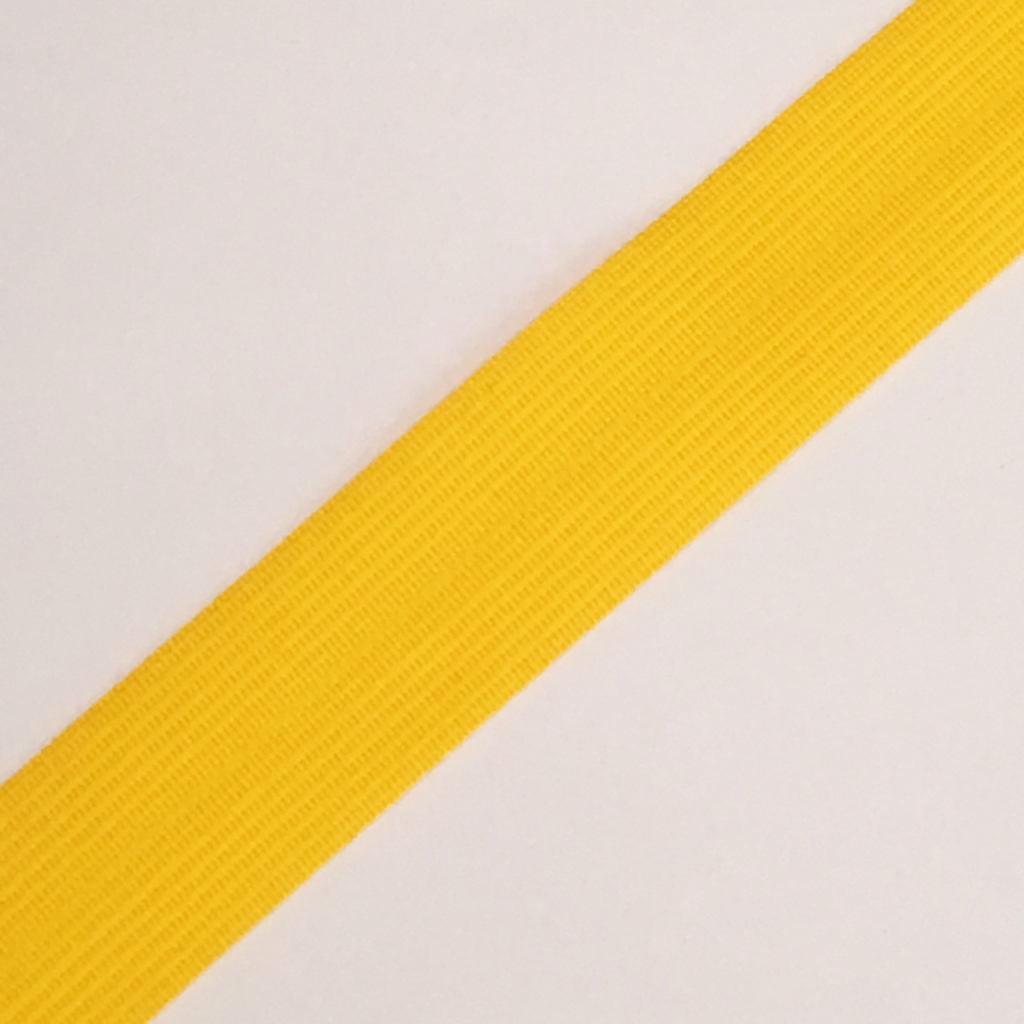 Viés Industrial (Boneon) 25mm Macio Amarelo Ouro Cor 501
