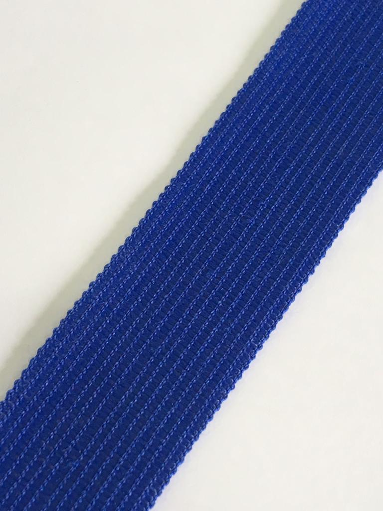 Viés Industrial (Boneon) 25mm Macio Azul Royal Cor 009