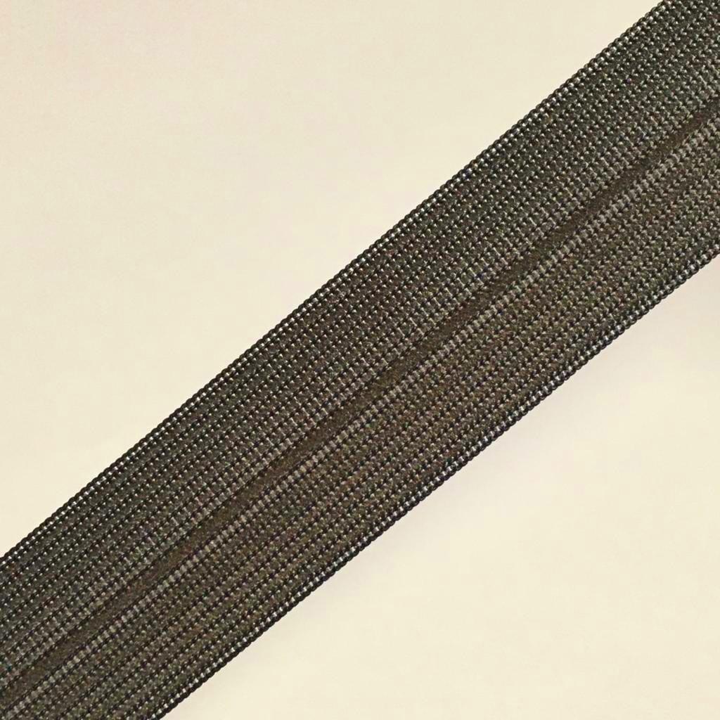 Viés Industrial (Boneon) 25mm Macio Cinza Chumbo Groelandia Cor 101