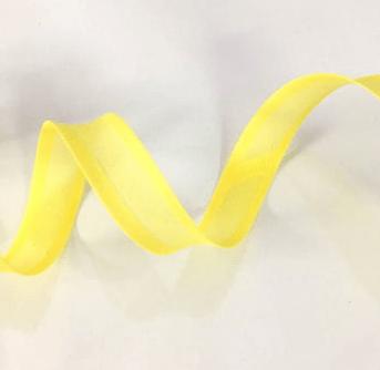 Viés Liso Amarelo Cor 049 (Rolo com 20 metros)