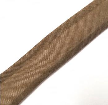 Viés Liso Marrom Claro Cor 045 (Rolo com 20 metros)