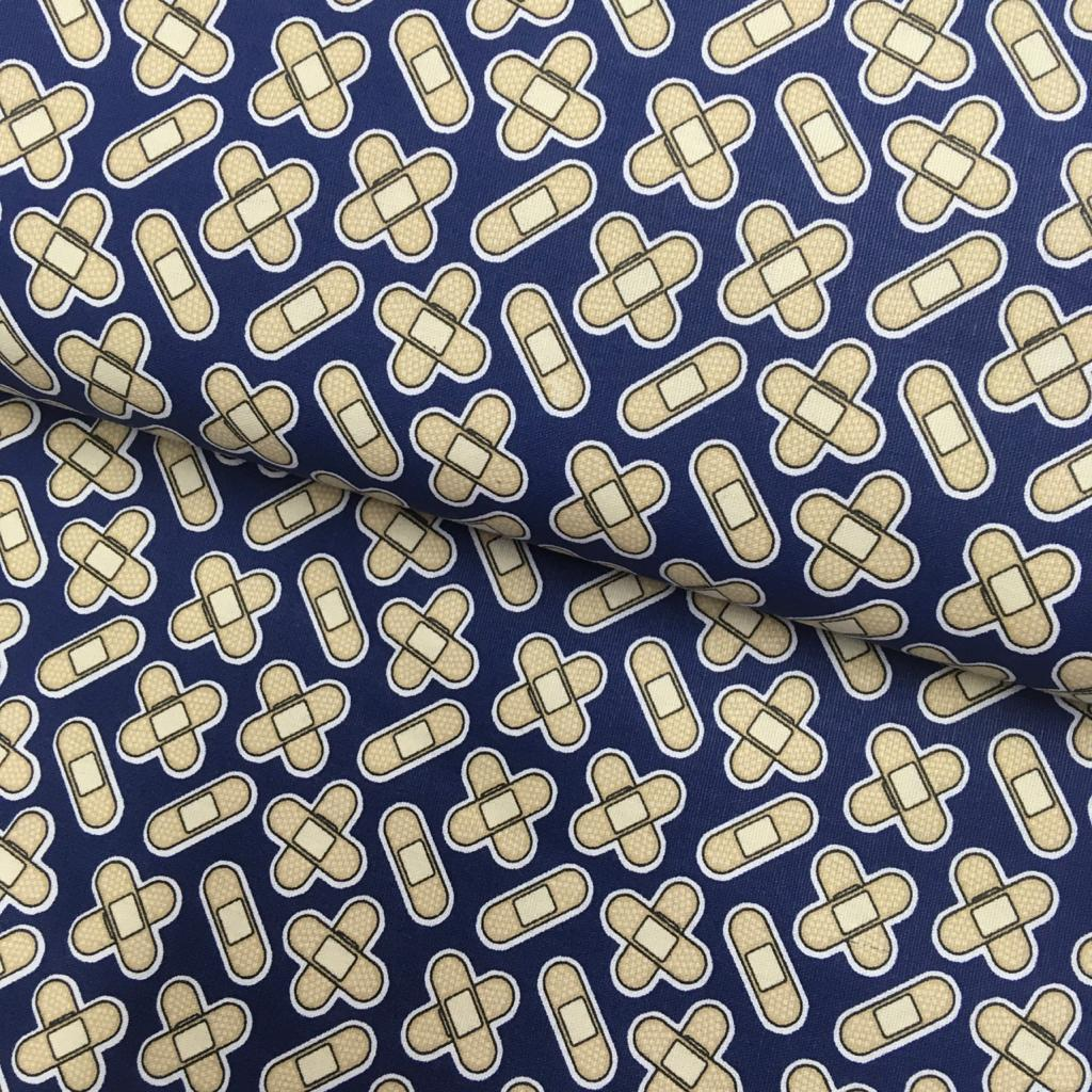 Tecido Curativo Fd Azul