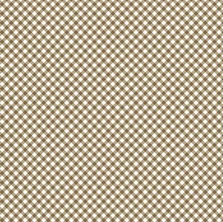 Tecido Micro Xadrez Caramelo (Coleção Micro Xadrezes)