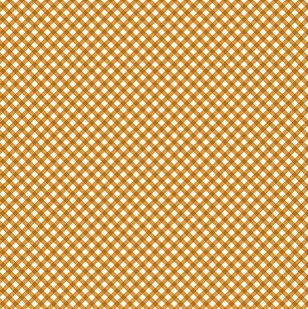 Tecido Micro Xadrez Laranja (Coleção Micro Xadrezes)