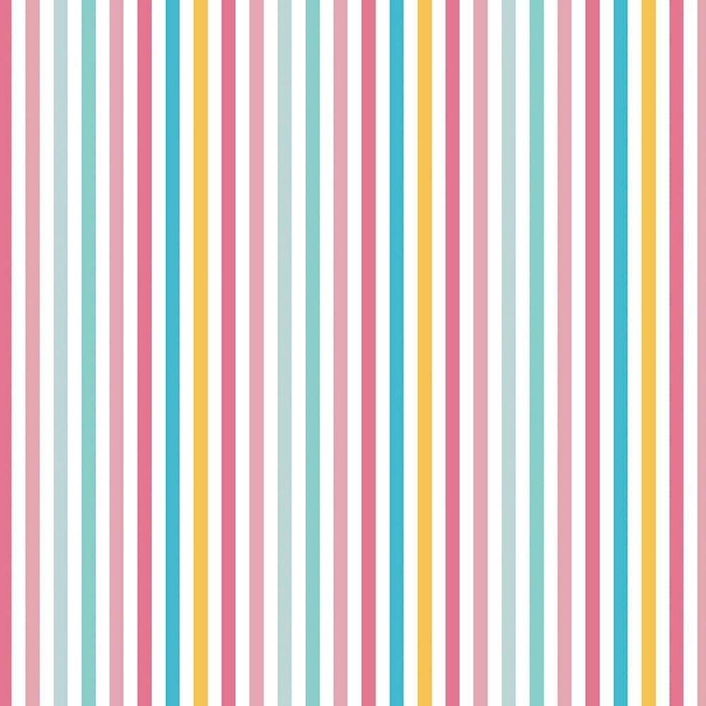 Tecido Listrado Multicolor (Coleção Peace and Love)
