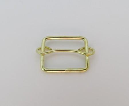 Regulador de Alça Quadrado 2cm Dourado
