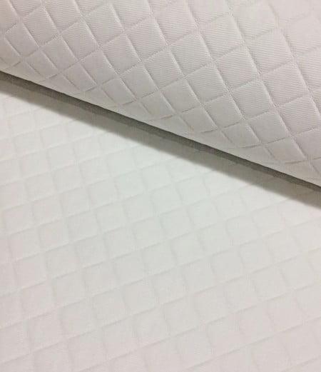 PVC Matelassado Dijon Branco