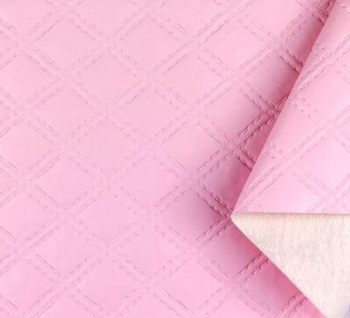 PVC Matelassado Duplo Chanel Rosa BB
