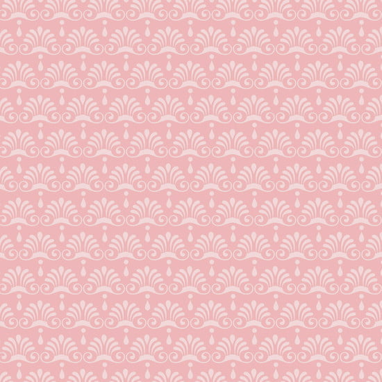 Tecido Chandelier Rosa Cotton