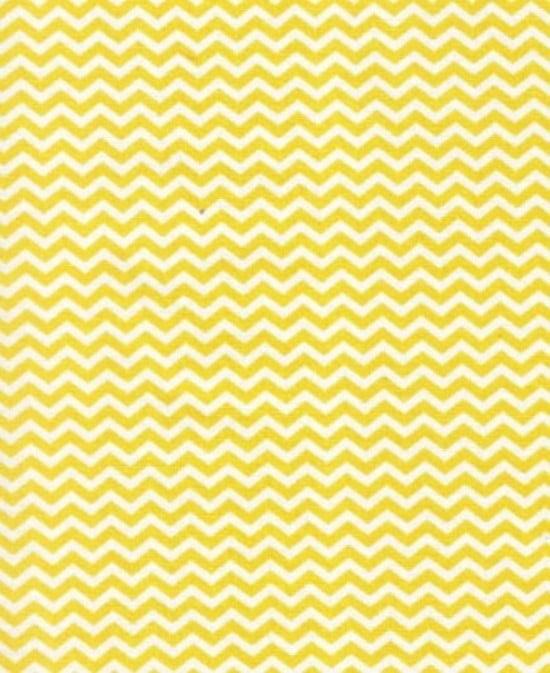 Tecido Mini Chevron Amarelo