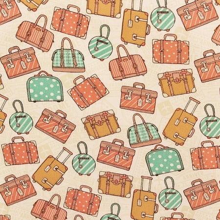 Tecido Bolsas de Viagem Verde Pistache