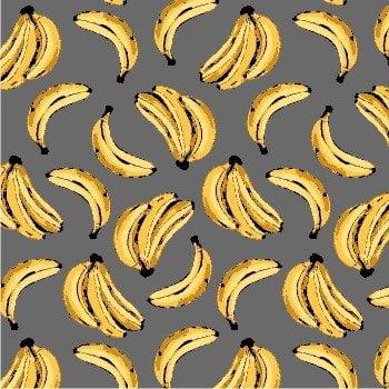 Tecido Banana Fd Cinza