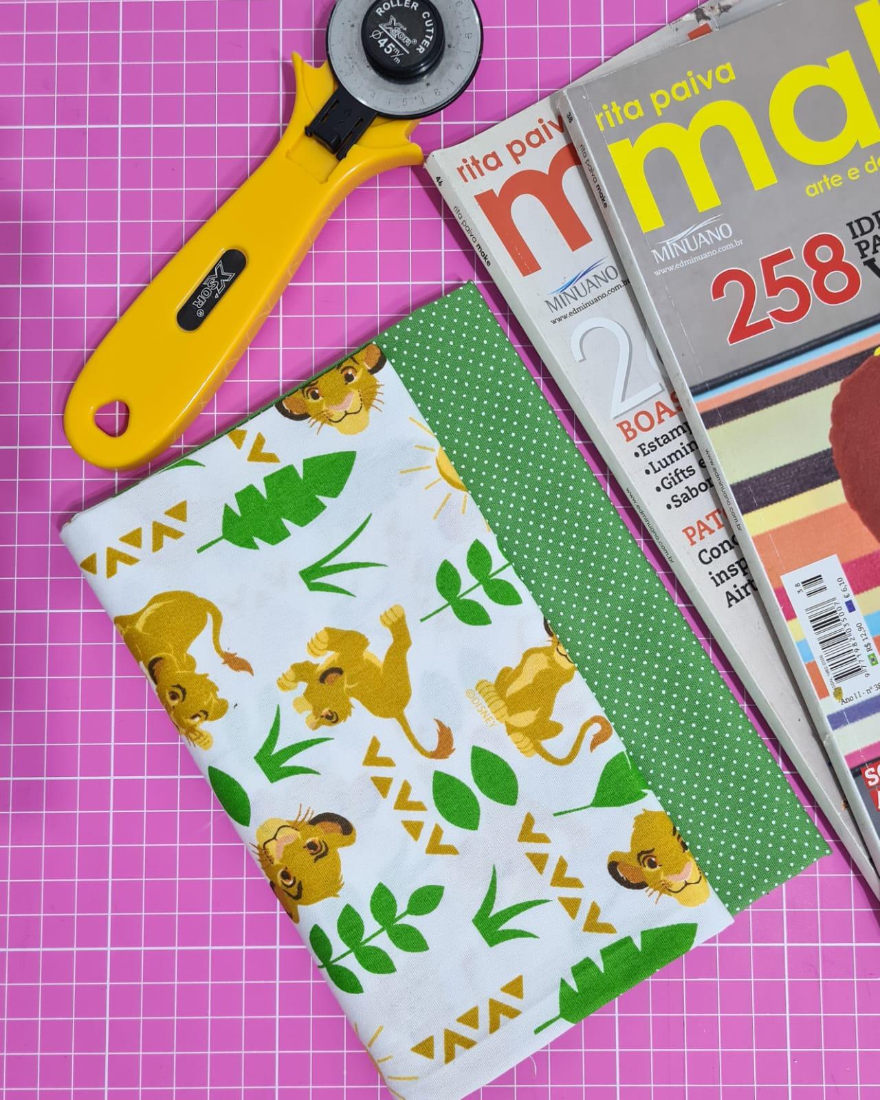 Kit de Tecidos K096 (2 Cortes de 50 x 75cm)