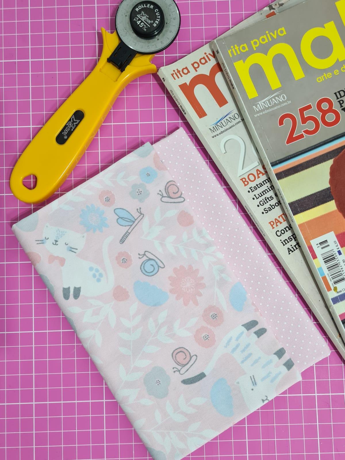 Kit de Tecidos K101 (2 Cortes de 50 x 75cm)