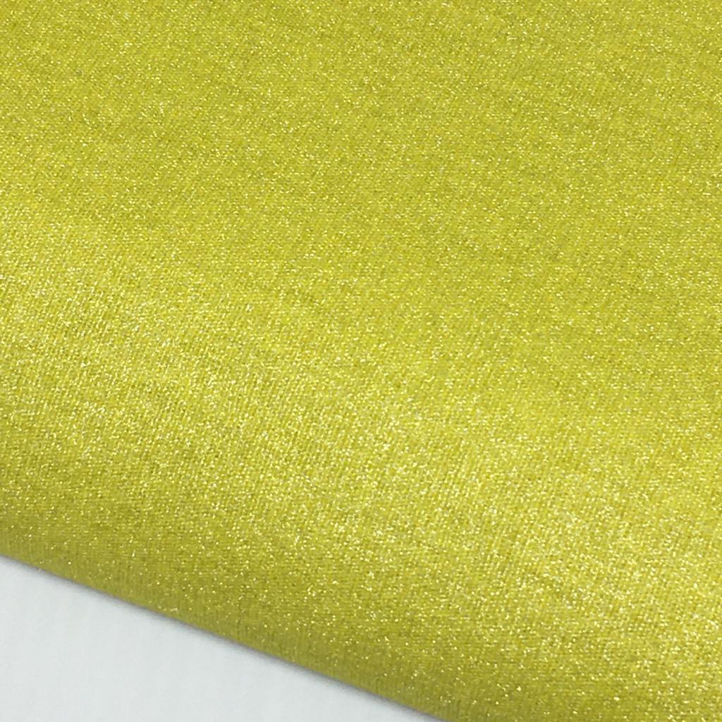 Tecido Metalizado Dourado Claro