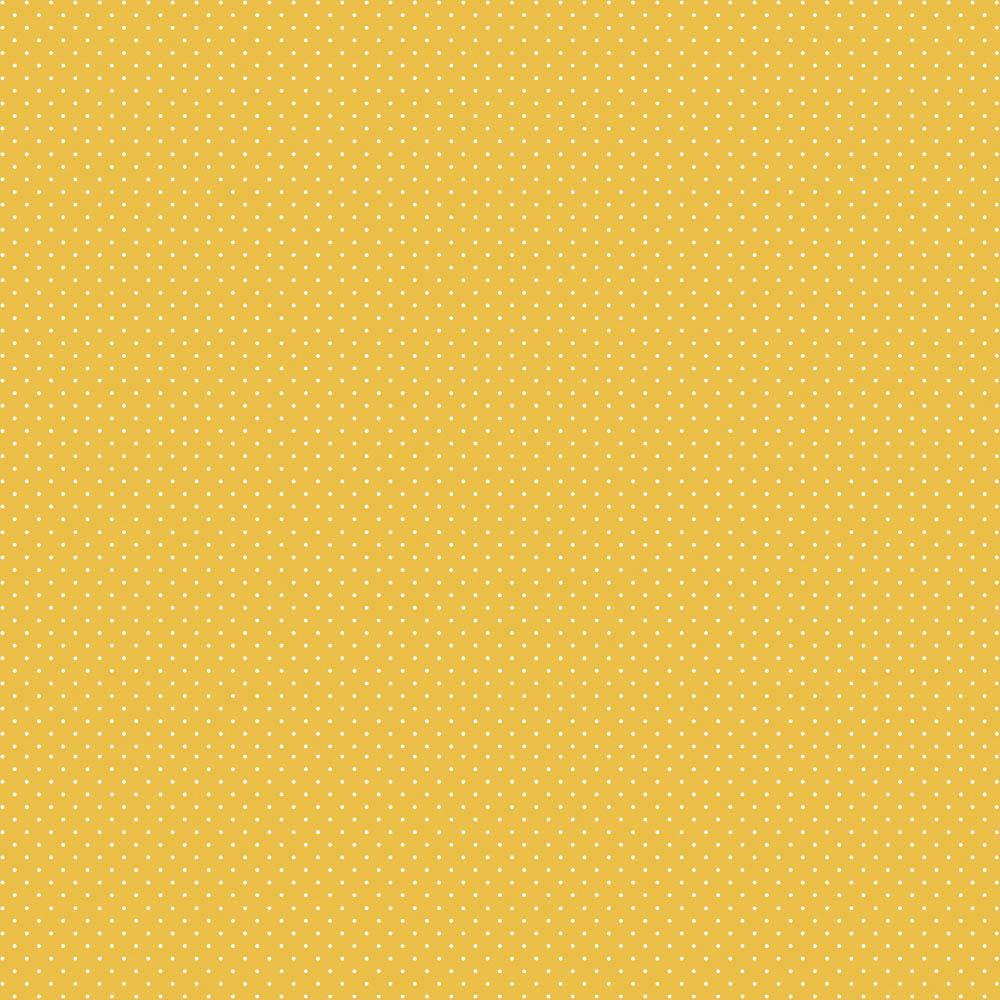 Tecido Micro Poá Amarelo Coleção Pandinhas