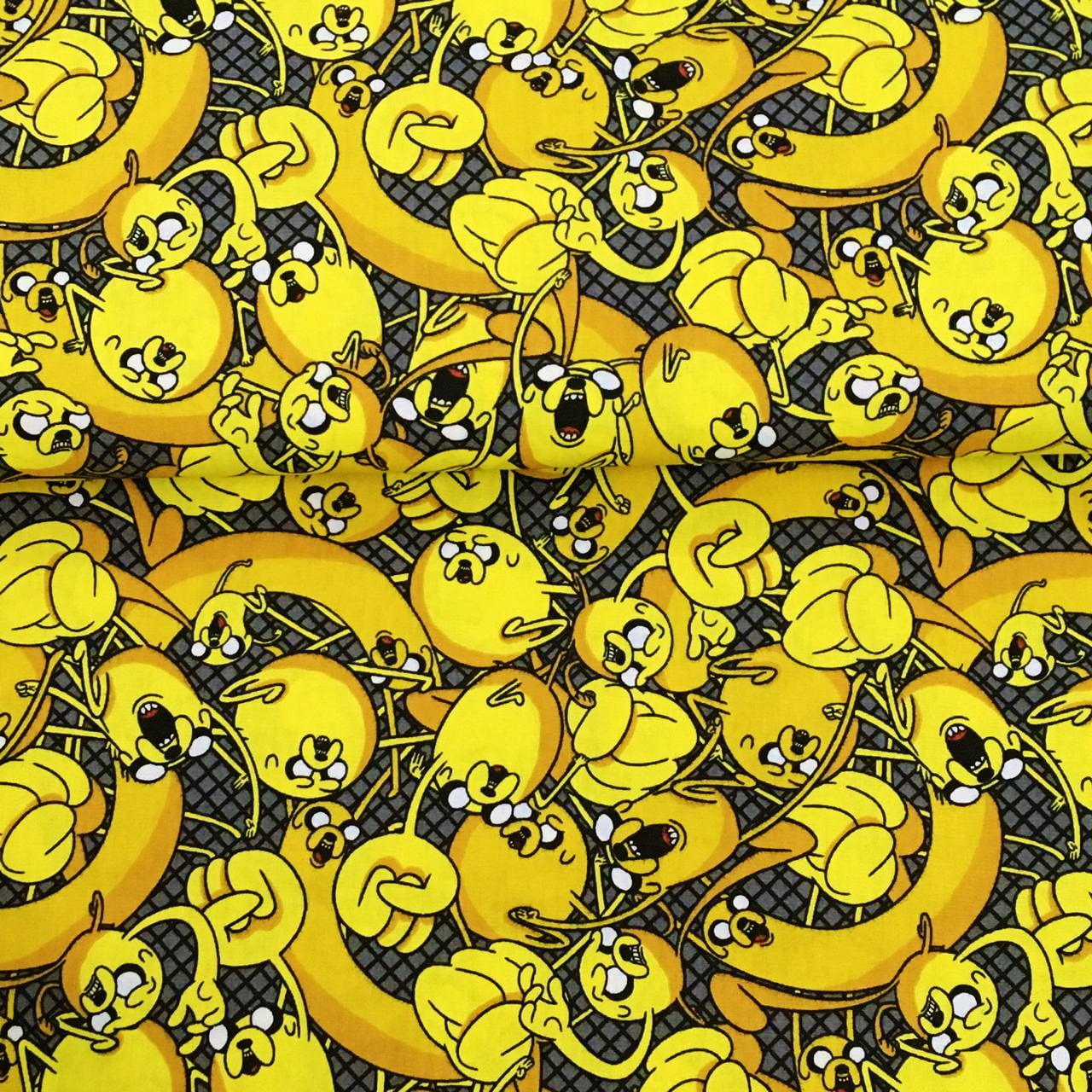Tecido Jake Cartoon Network