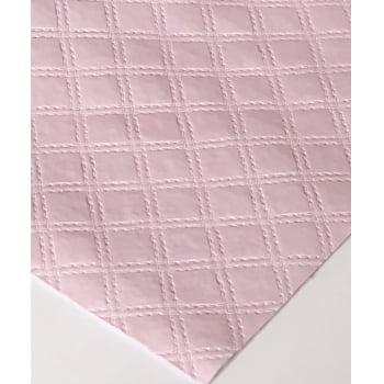PVC Matelassado Duplo Chanel Lilás (0,51 x 1,15)