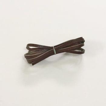 Tira de Couro 0,4mm Marrom Chocolate