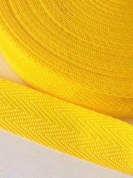 Alça de Nylon Amarelo Ouro 3cm