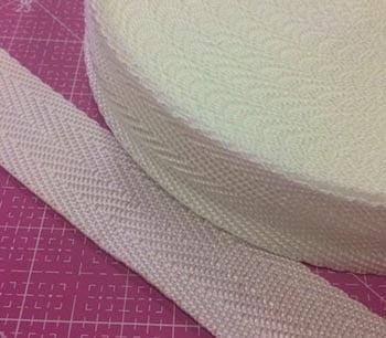 Alça de Nylon Branca 3cm