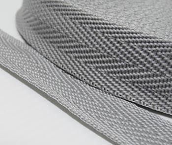 Alça de Nylon Cinza Claro 3cm