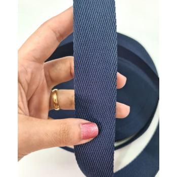 Alça Fashion Azul Marinho 3cm