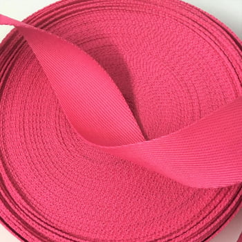 Alça Fashion Pink 4cm