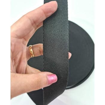 Alça Fashion Preto 3cm