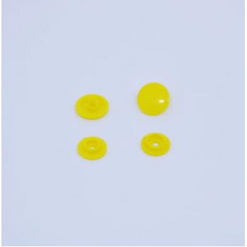 Botão de Pressão Ritas nº 12 Amarelo (Pacote com 50 peças)