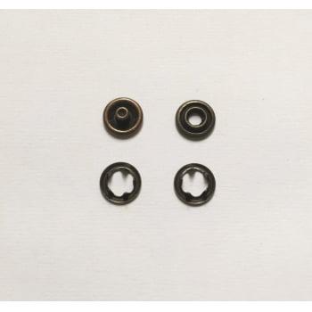 Botão de Pressão Tic Tac nº35 (9mm) Ouro Velho