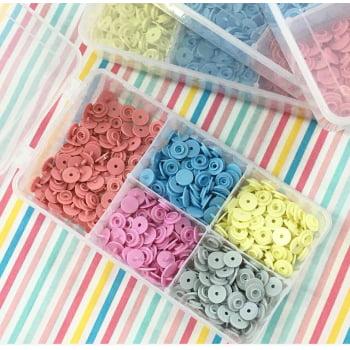 Kit Botões Ritas n10 Candy Color