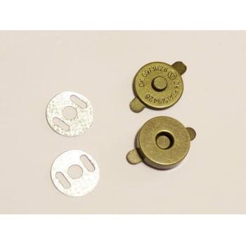 Botão Imantado 14mm Ouro Velho (Pcte com 5)