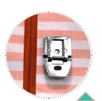 Calcador de Ferro para Zíper Invisível 66008