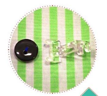 Calcador de Plástico para Pregar Botão 179911