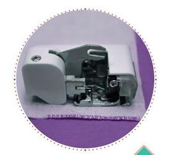 Calcador Overlock com Faca CY-9000