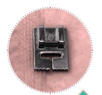 Calcador para Frisos e Nervura Estreita 66010