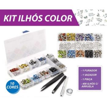 Kit Ilhós Colorido