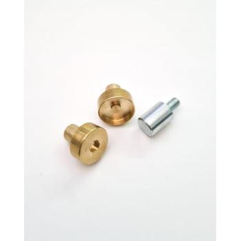 Matriz Botão Imantado 18mm para 1 ou 2 Rebites (3 peças)